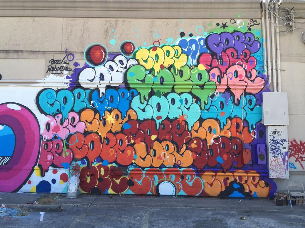 Cope2 rocks @huemuralfest Houston Texas @widewalls1 @JuxtapozMag @streetartnews @BKStreetArt @Streetart_Photo http://t.co/PMFBA6pXAT