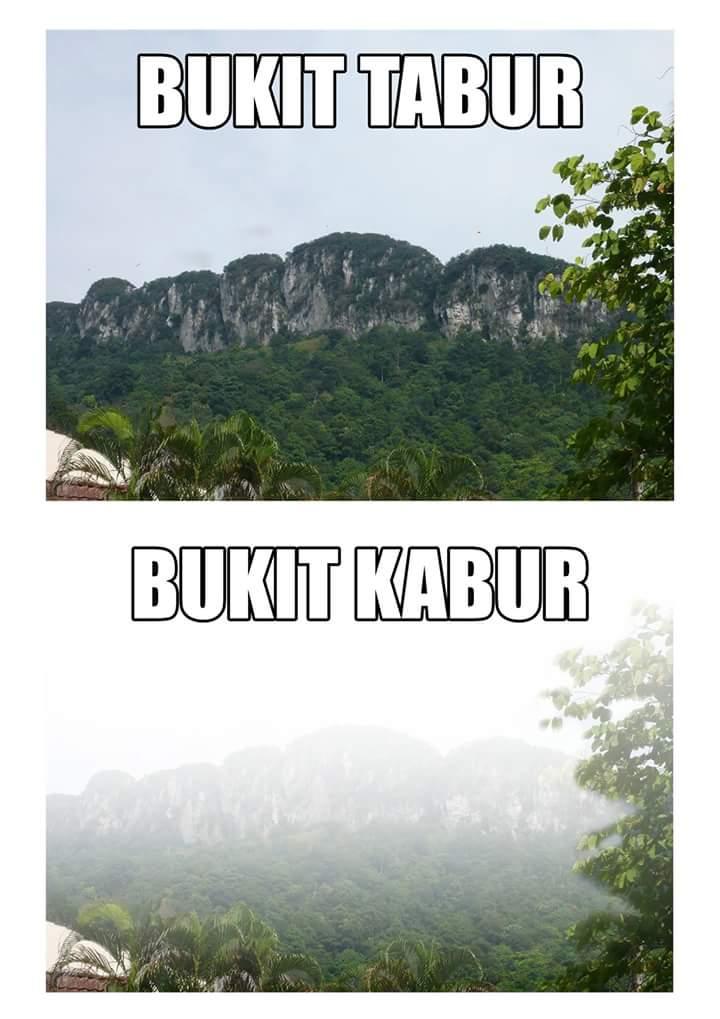 Bukit Tabur ke Bukit Kabur? @twt_marathon http://t.co/xgClIu3dEM