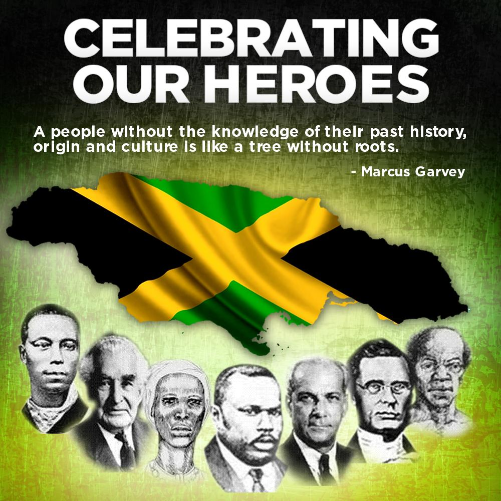 Saluting our National Heroes!!! They did pave the way for us #Jamaicans http://t.co/ZJqVH0NECW