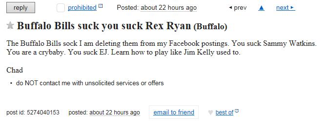 ventura99: Craigslist Buffalo Post An Ad