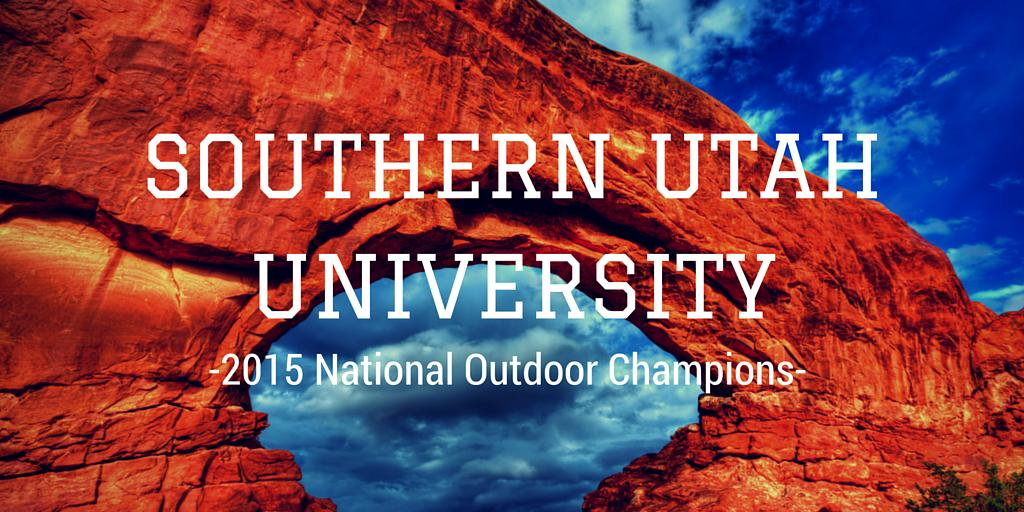 Congrats @suutbirds!! They are the official 2015 National Outdoor Champions! http://t.co/d0TMsZ8wg3