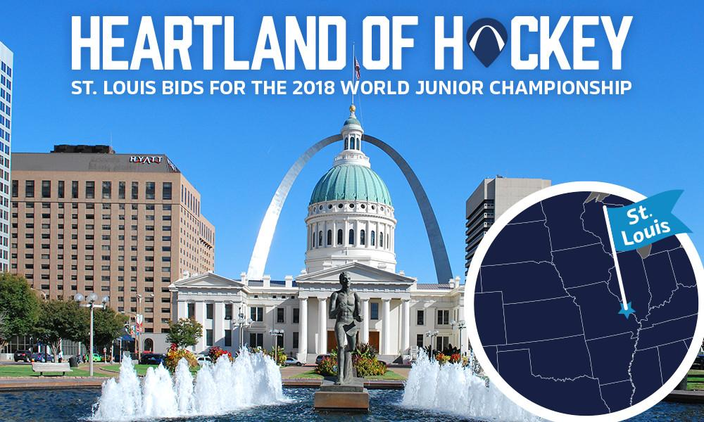 We want the 2018 IIHF World Junior Championships in STL! RT & show your support! #WJCinSTL http://t.co/uGTl9cKuyc http://t.co/aoYBklIS7P
