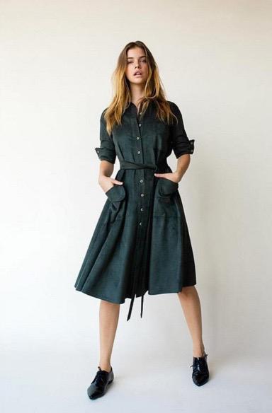Get this beauty now at http://shop.vlvt.nl #aeronstudio #AW15 #hunterdress #shoponlinenow #Mondayshopping