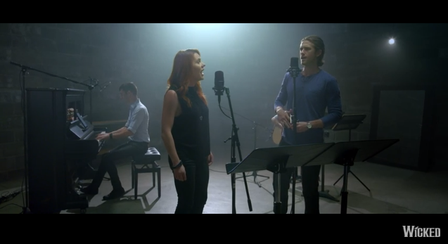 "Watch @AaronTveit & @RachelTucker1 sing a reimagined version of ""Defying Gravity"" #OutofOz: https://t.co/4CVmgZdAuJ https://t.co/cQ1oRo0a8B"
