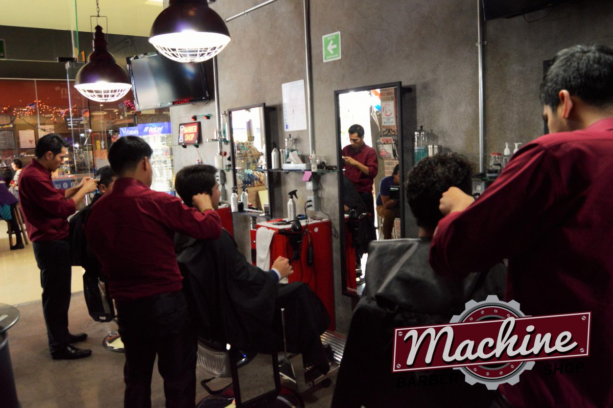 barber shop machines