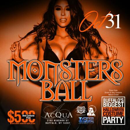 #ACQUA 10.31 #BuffalosBiggestHalloweenParty #MonstersBall TIXS ON SALE!!! #GGE X @TKimble30 X @DJiceberg1 https://t.co/j8MyeBHWcN