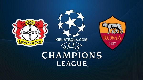 Bayer Leverkusen Roma Streaming Champions League: info Diretta TV e Live Web Rojadirecta