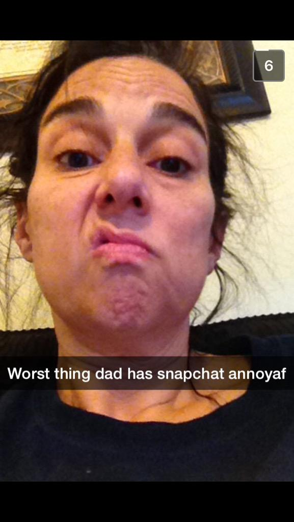 Parents and snapchat
