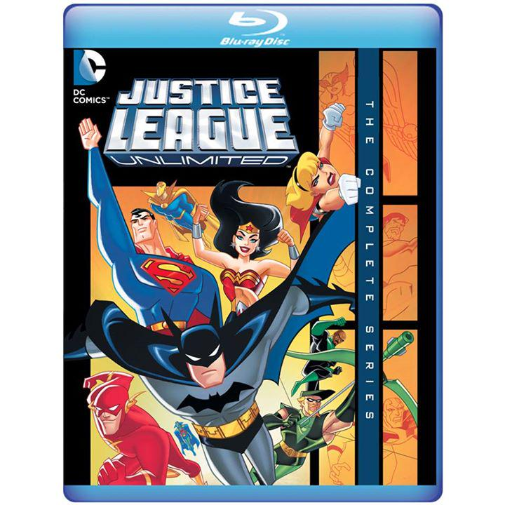 Justice League Unlimited comes to Blu-ray on Nov. 10! Complete list of Special Features: https://t.co/cBVeVxAoML https://t.co/JwQBGDqSC8