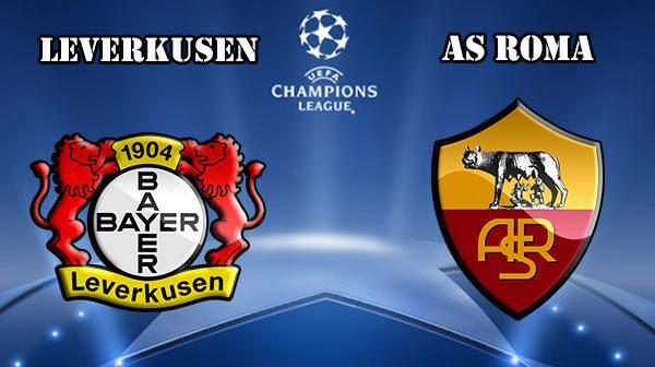 ROMA Bayer Leverkusen Rojadirecta Streaming Champions League.