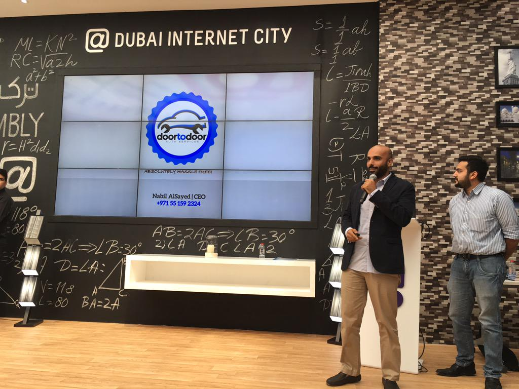 8th finalist @d2dAutoService your car butler #SmartCityAppHack #SCAH_Dubai #GITEX2015 @DIC_Community @in5centre https://t.co/oUHBv5C6Y1