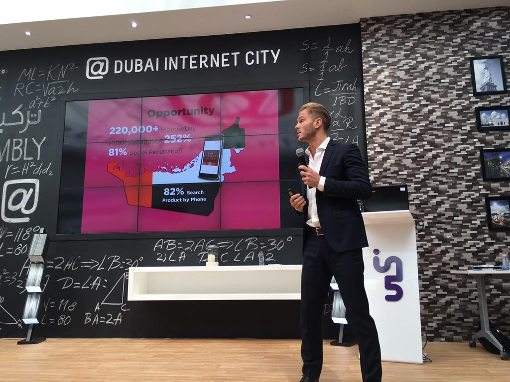 10th finalist @OfficialLupUp all about venues #SmartCityAppHack #SCAH_Dubai #GITEX2015 @DIC_Community @in5centre https://t.co/uICtXfsm39