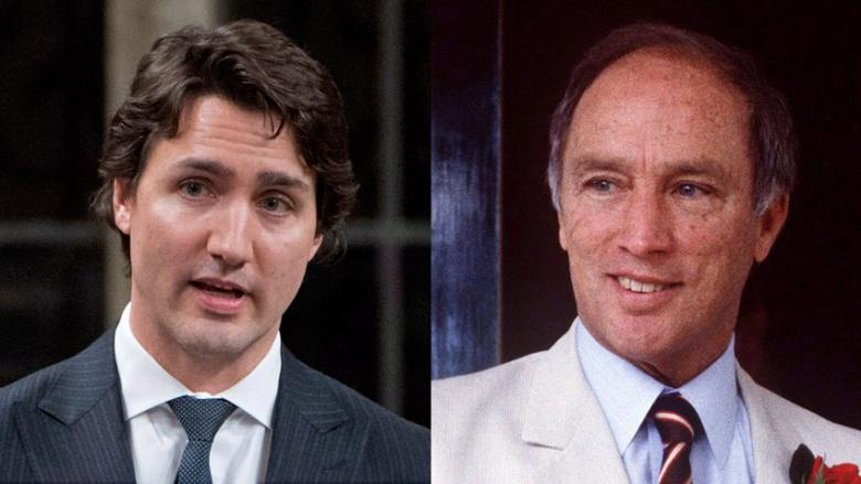 """Joe Clark: Pierre & Justin are """"very different... (but) they reflected the generation they were elected to lead"""" https://t.co/WUpnNUhvUR"""