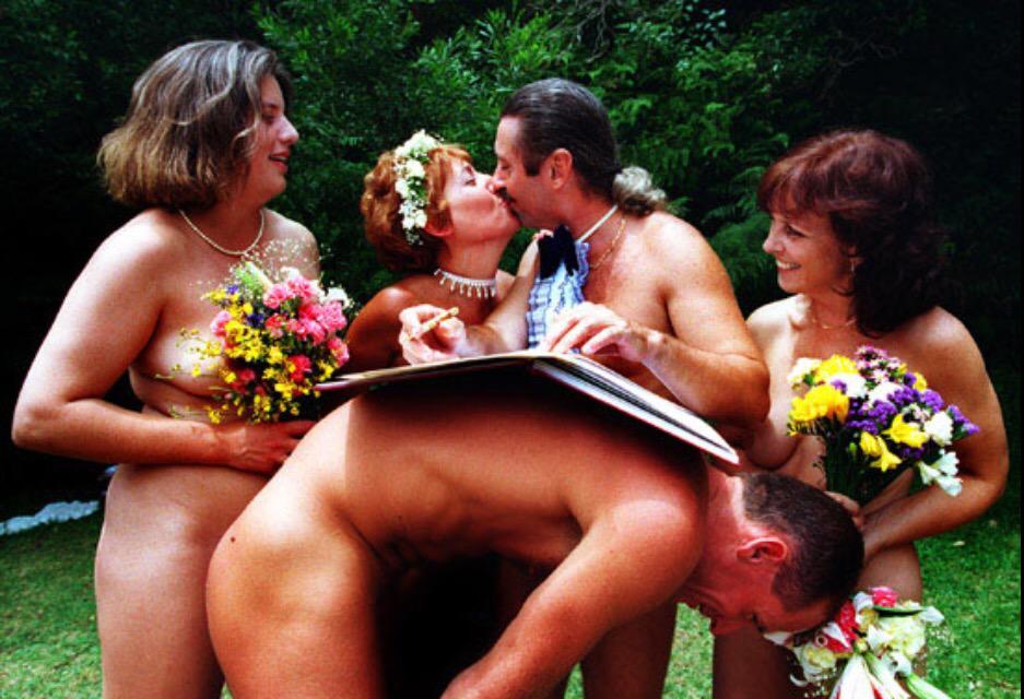 Dallas kilponen on twitter from the archives nude wedding at nude wedding at cobblers beach sydney 1997 sydney australia photossmh fairfaxphotos httpstyyqnx0fabf junglespirit Gallery