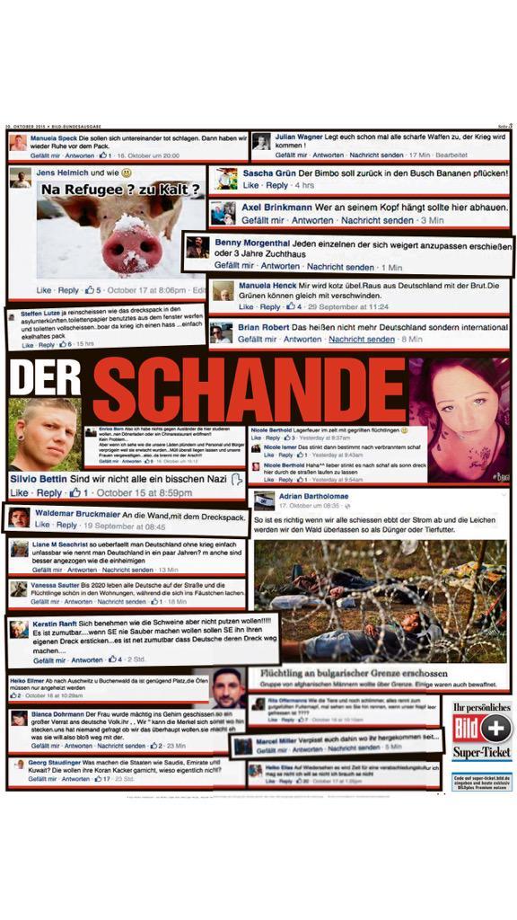 Kai Diekmann On Twitter Gegen Den Widerlichen Hass Auf Flüchtlinge