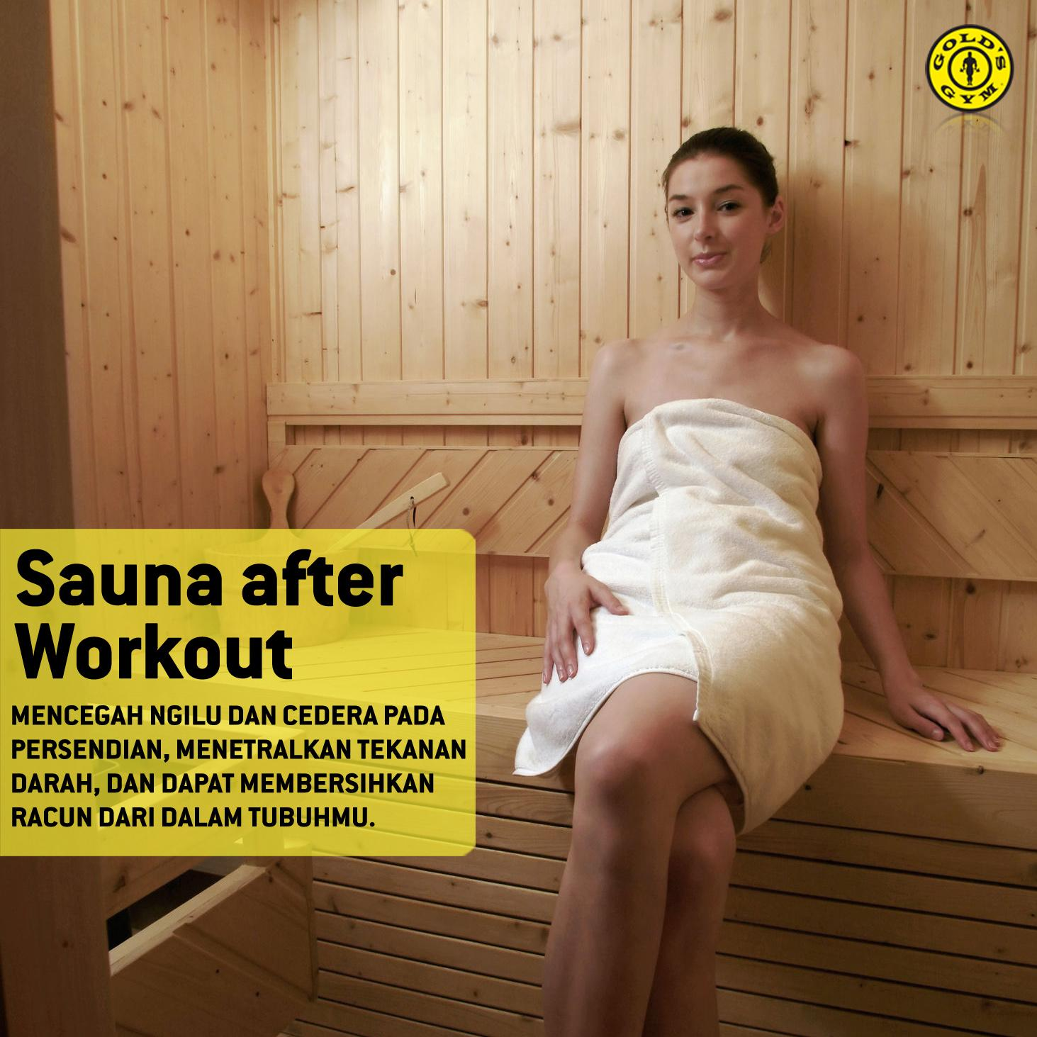 Gold S Gym Indonesia On Twitter Sauna After Workout Why Not Https T Co 3doydolnkj