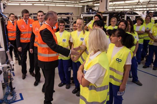 Plastic Omnium On Twitter On Oct 5th The President Of Slovak Republic Mr Andrej Kiska