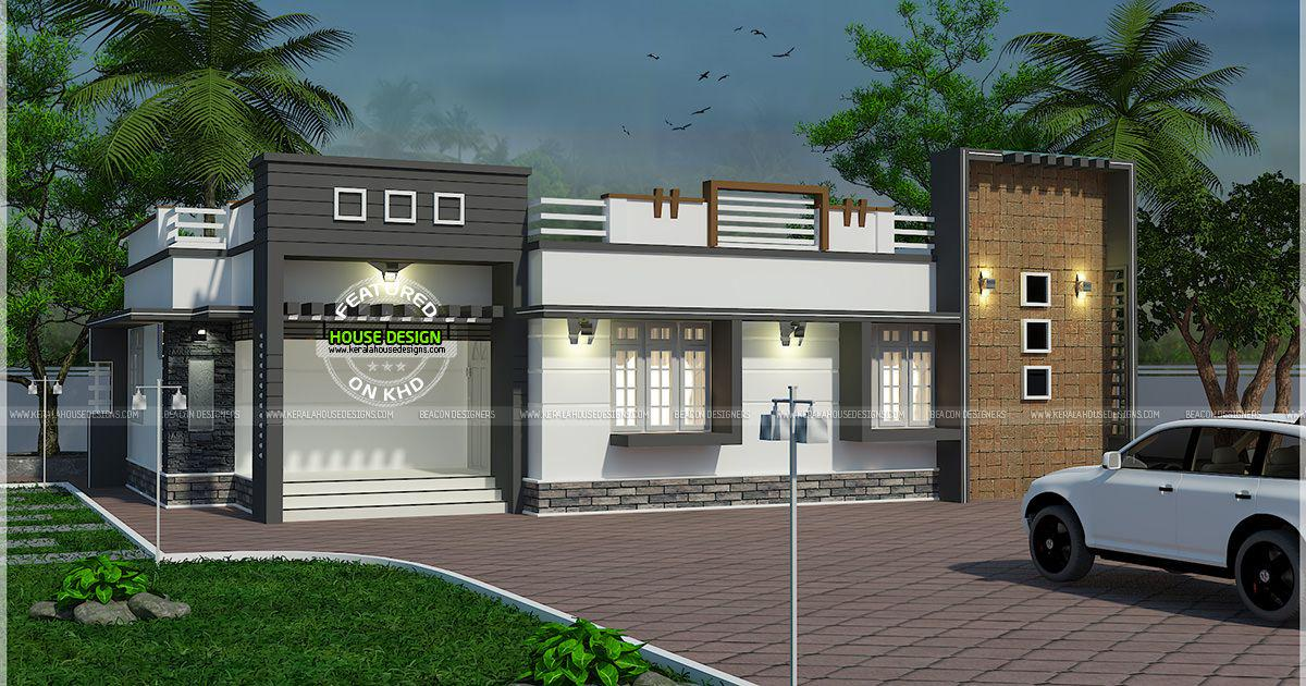 Kerala Home On Twitter Nice Single Floor Flat Roof House In Kerala Keralahomedesign Houseplan Https T Co Ht59amzkue Https T Co Lnggtgymrc