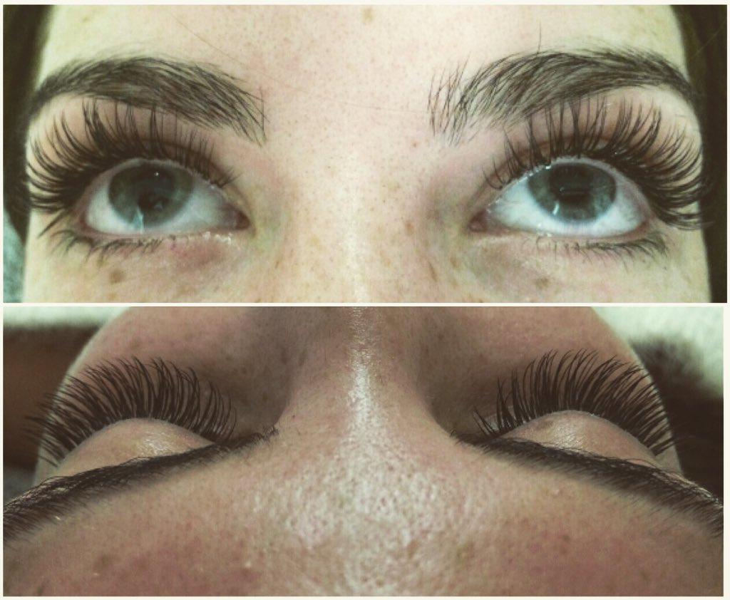 I have a couple of semi permanent eyelash appointments left @Jordana_Hair this week