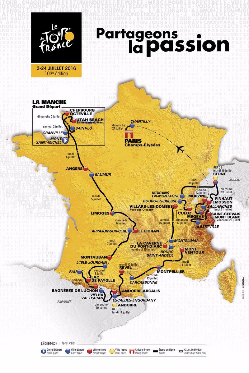 Le Tour de France 2016 passera par l'Auvergne ! CRwJwtrWUAAwMQ4