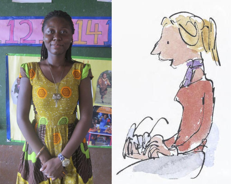 "RT @sabretrust: ""Dora, is so kind & calm that she reminded me of Miss Honey, the good teacher in Matilda."" - @KimberlyKWyatt #Ghana https:/…"
