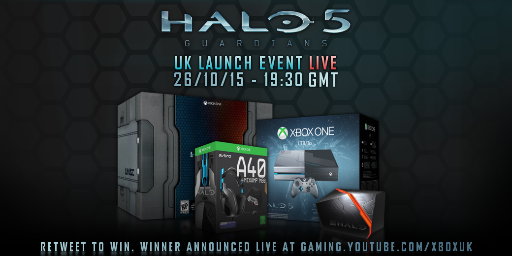 Follow & RT for your chance to WIN the ultimate #Halo5 prize package 🏆   Winner announced @ http://bit.ly/XboxOnSubscribe