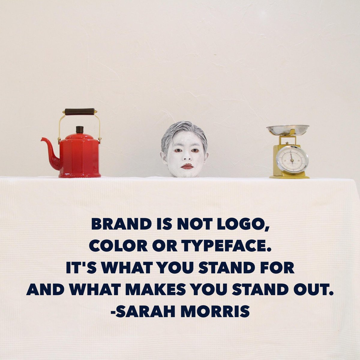 Brand is not logo, color or typeface. It's what you stand for and what makes you… — @sarahbear28 #interactLDN https://t.co/luP4jVJq7e