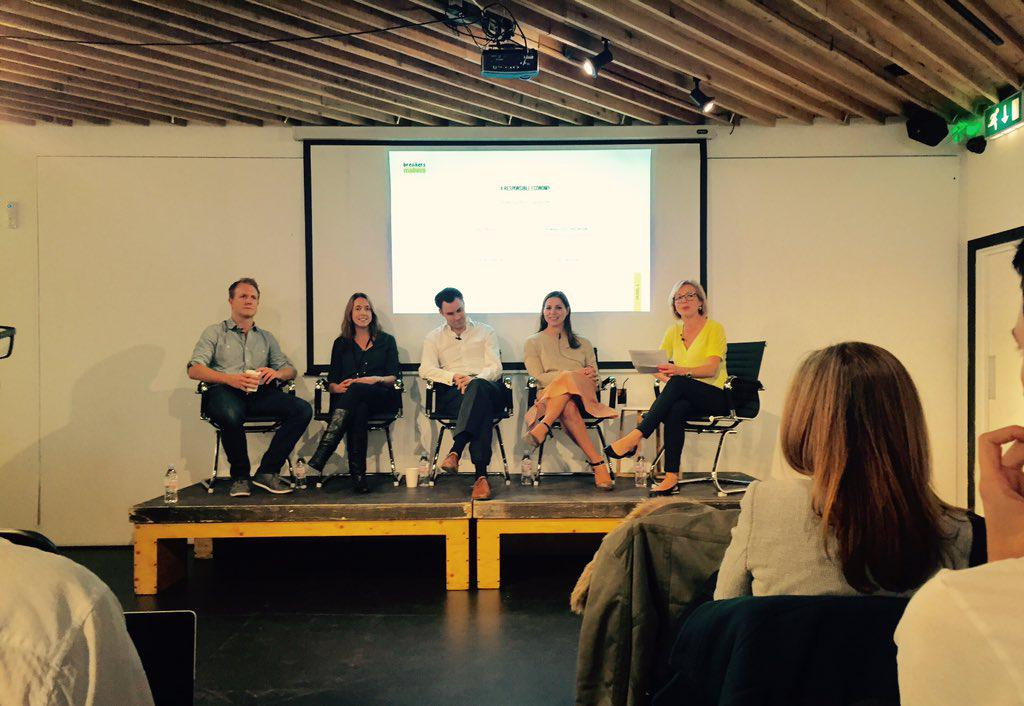 top panel moderated by @CarolineHydeTV w/@DebbieWossk @gregmarsh @deliveroo @hassle #B2M15 organised by @Onfido https://t.co/TawZV2q4Xy