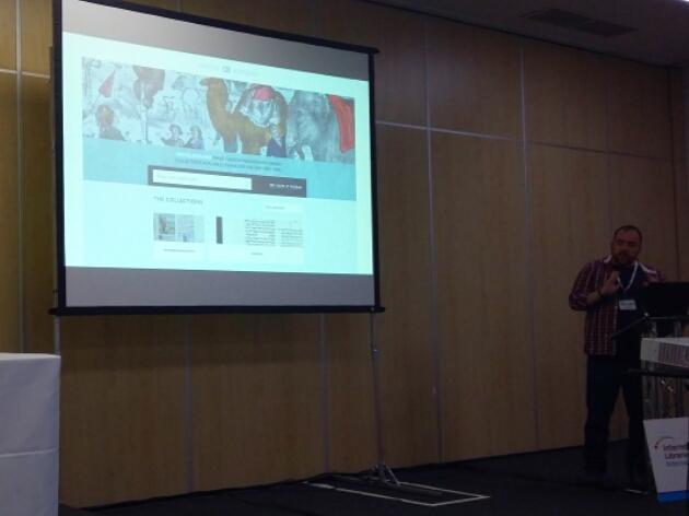 Fascinating presentation about Digital Bodleian #ili2015 Everything is interoperable https://t.co/paAjKtXA6M