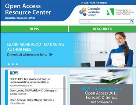 The CCC/ALPSP #openaccess Resource Center—updated and redesigned in celebration of #OAweek https://t.co/02UkhlCebI https://t.co/8cB8HcjHPa