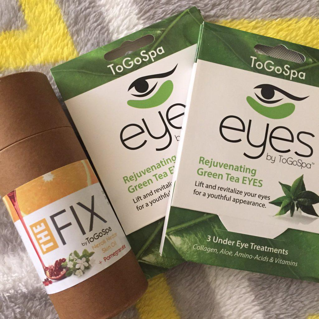 Love #GreenTea Eyes & #TheFix? Retweet this pic before 2pm EST for the chance to win!