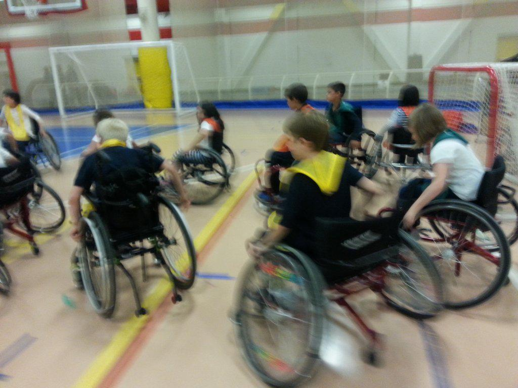 Our Grade 3s & 4s participating in an inclusive games program at Variety Village #AllAbilityFacility @stanselm_cs<br>http://pic.twitter.com/CDCwNuk7Ho