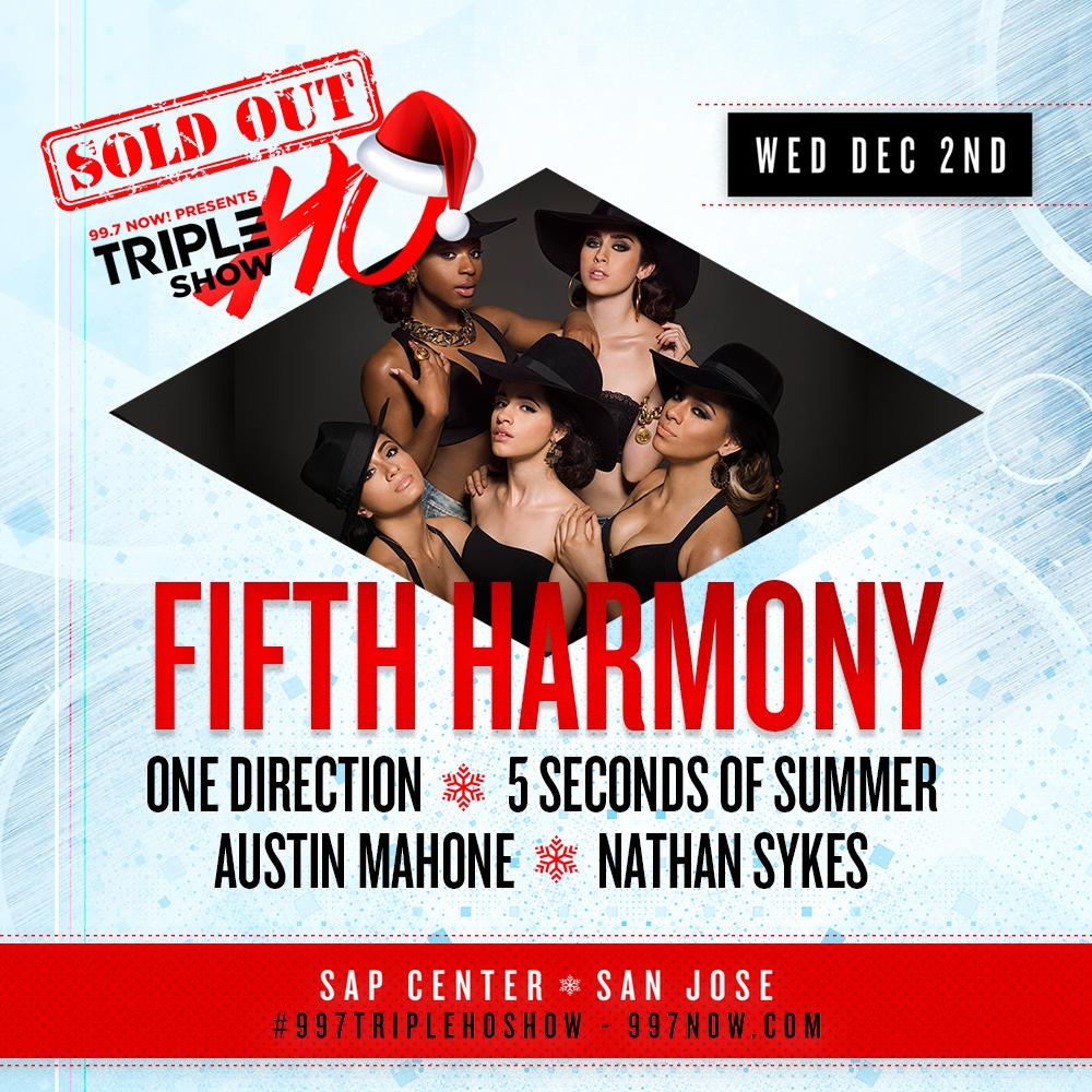 OMG #Harmonizers!! Only 43 days until #997TripleHoShow!! Playing #WorthIt now to get you in the mood: @FifthHarmony!