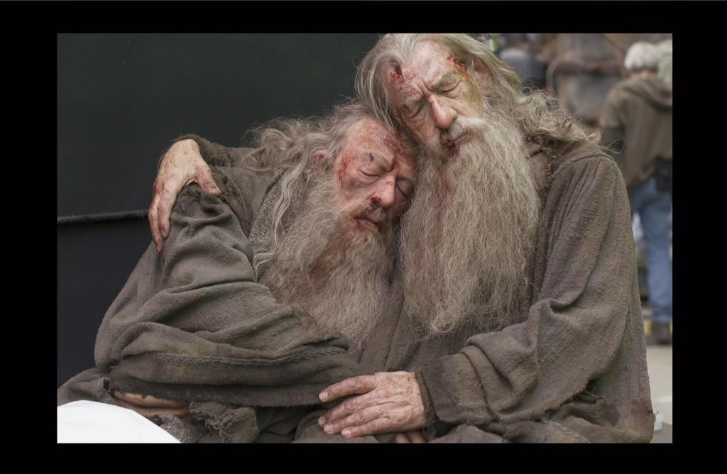The gallery for --> Michael Gambon The Hobbit