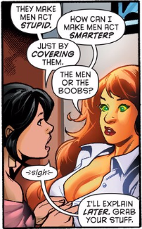Starfire with boobs
