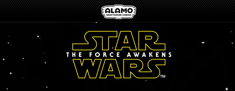 """I'm raffling off tickets to see """"Star Wars: The Force Awakens"""" on 12/18 at @drafthousesf !  https://t.co/J4879fuwXn https://t.co/vkZW6dSqrN"""