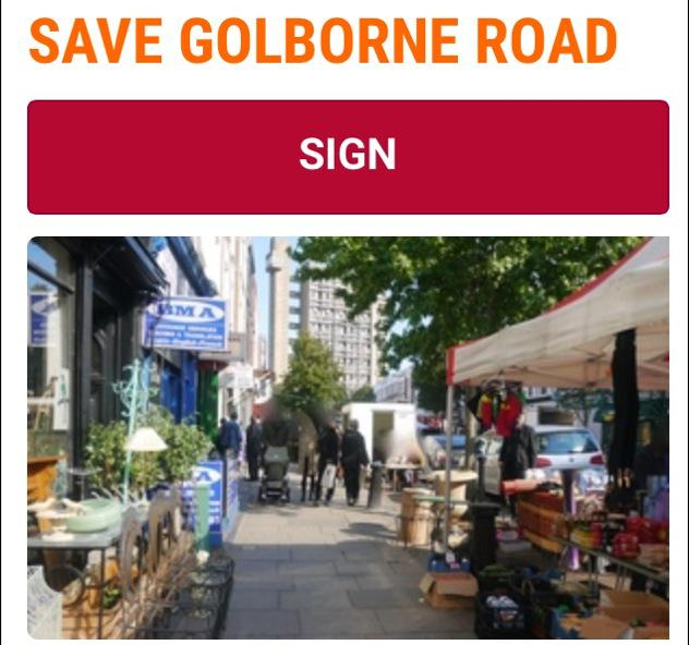 Last 12 hours of my campaign to save Golborne Road Market. Very grateful if you would sign. https://t.co/Vly1KvZHOB https://t.co/881wgK1rUa