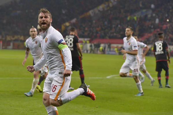 Bayer Leverkusen-ROMA 4-4 Video: Incredibili due minuti di pazzia Champions.
