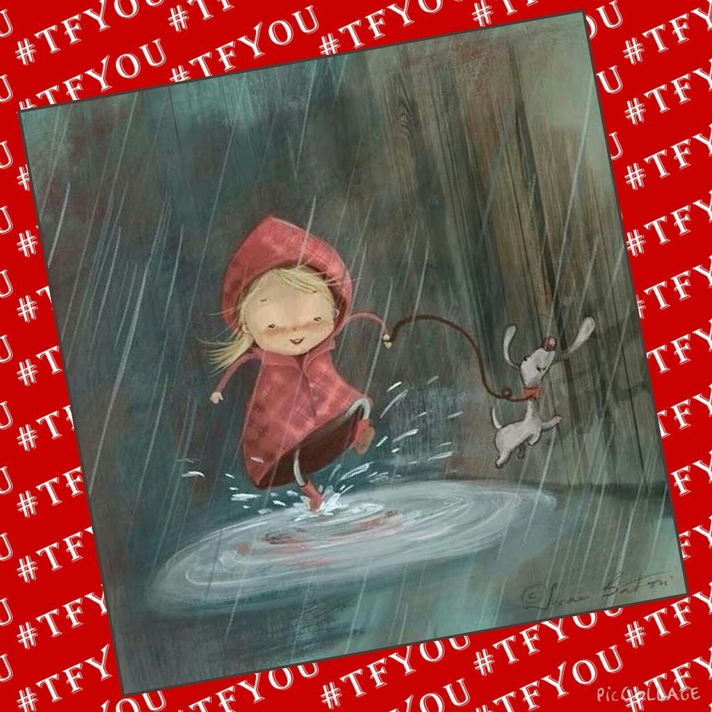 Открытки дождик не грусти, днем рождения
