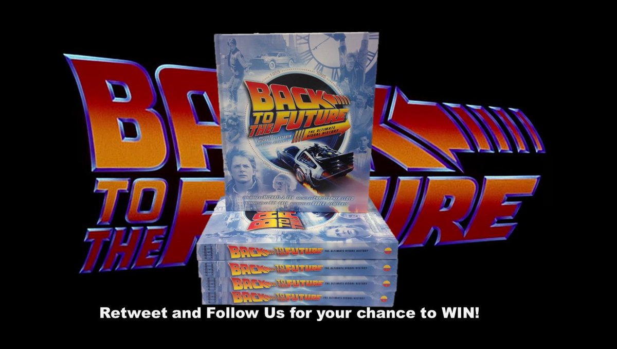 This #BackToTheFutureDay we're giving away these Ultimate Visual Histories! RT & Follow by midnight & you could win! https://t.co/2U0chVRjLm
