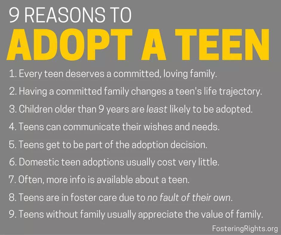 Adopt a teen
