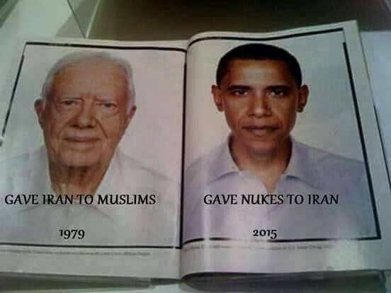 """""""@jjauthor: Carter and Obama both left American hostages in Iran!  https://t.co/xwwAO0bdly #tcot #BenghaziCommittee https://t.co/IEtHYGClSu"""""""