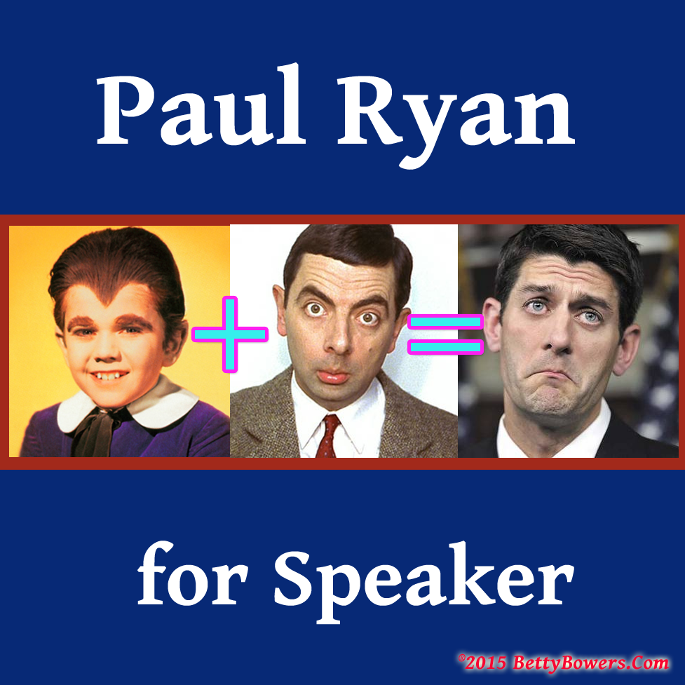 Paul Ryan dictating terms if he is to be Speaker