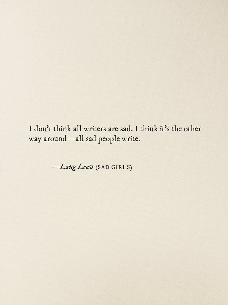lang leav on excerpt from my novel sad girls coming