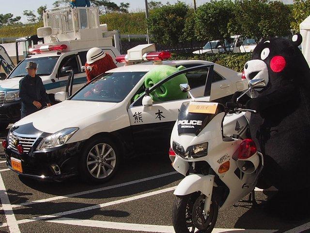 くまモンは白バイ、ぼくとムックはパトカーで出動だー! gachapin.fujitvkidsclub.jp/2015/10/201510… pic.twitter.com/NtYPdX0Xnb