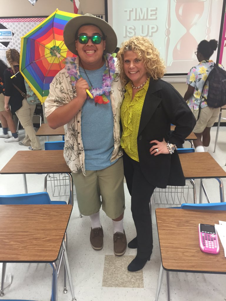 Janna Griffiths On Twitter Today Was Tacky Tourist Day I Love That My Kids Are Participating In Our Homecoming Themes Poteetstrong Https T Co X9rvw4nwkc