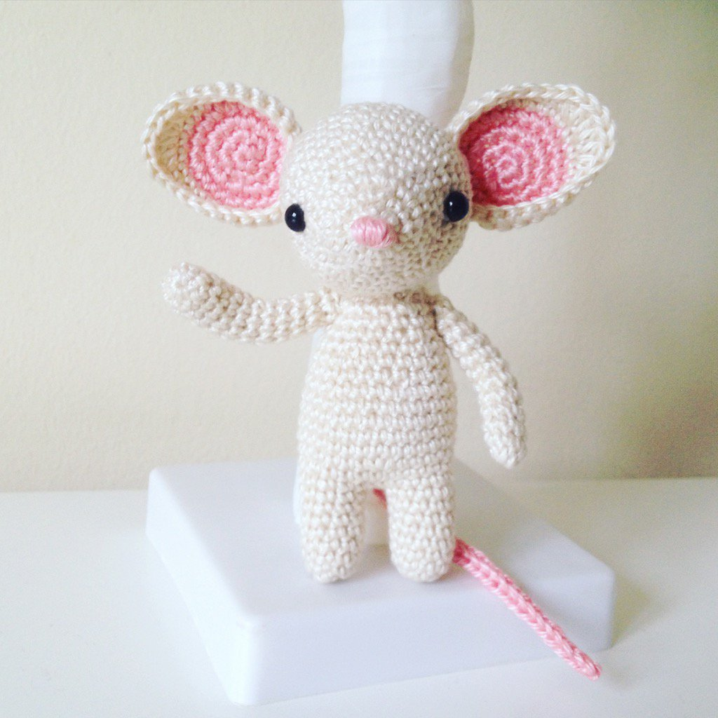 Crochet Tiny Mouse Amigurumi Free Patterns | Kostenlose muster ... | 1024x1024