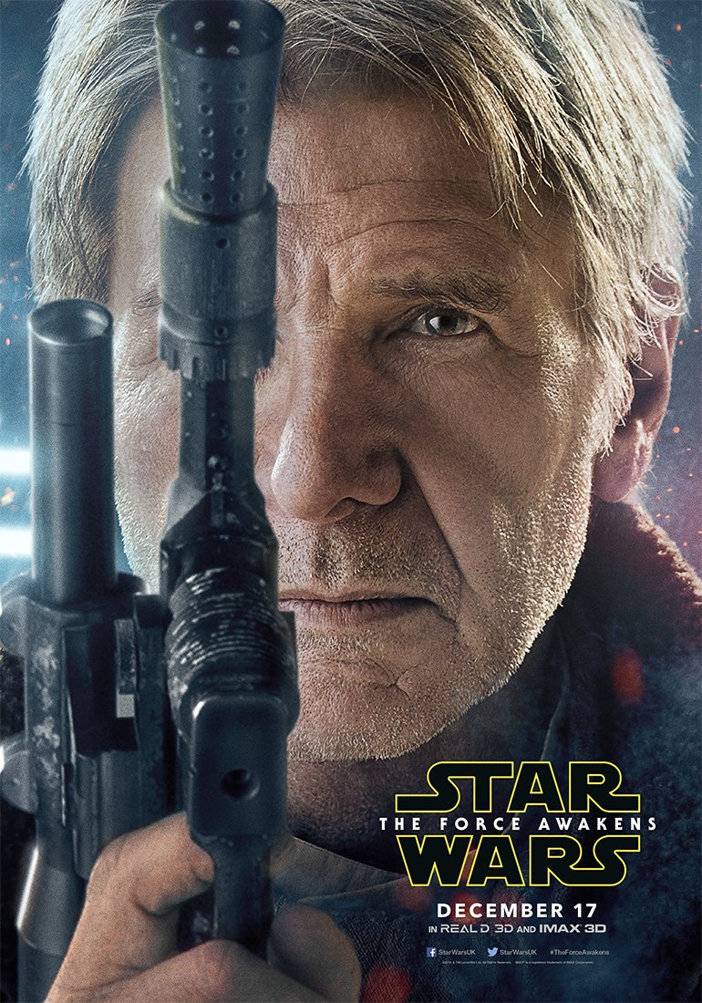 Star Wars: The Force Awakens Character Posters Revealed 1