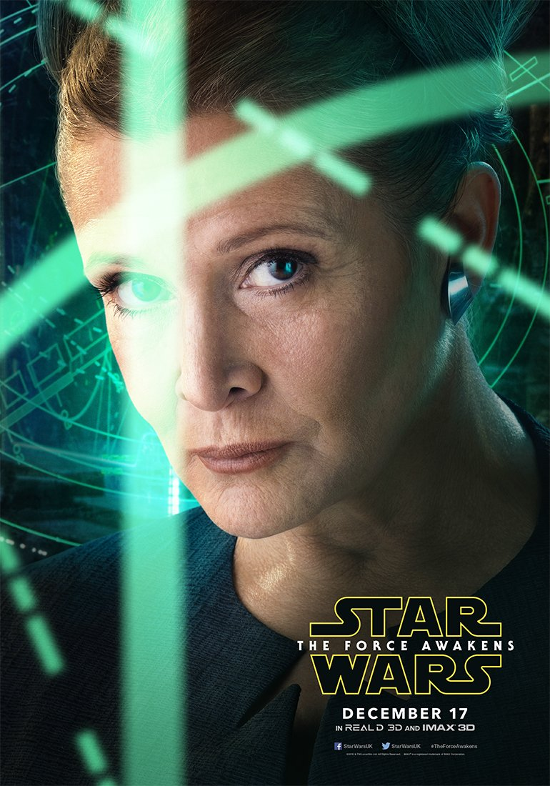 Star Wars: The Force Awakens Character Posters Revealed 2