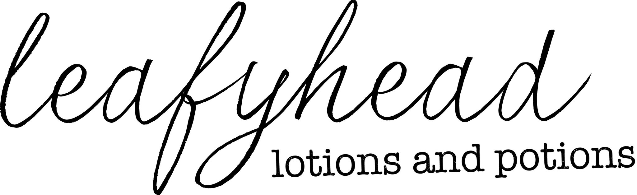 logo for Leafyhead Lotions & Potions